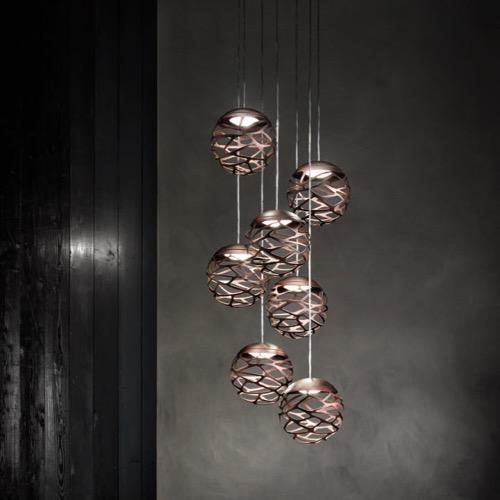 Studio italia design designers for Mehrflammige pendelleuchte